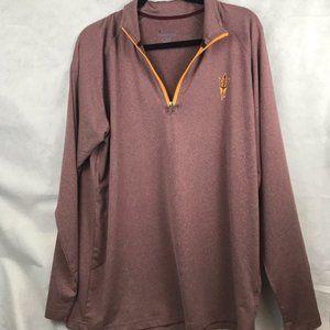 ASU 3/4 Zipper Pullover Sweater
